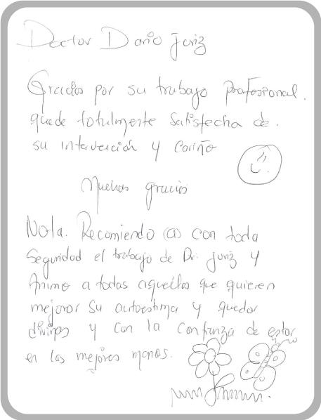 Dr Darío Juris Testimonio Adriana Quintero